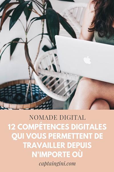 12 compétences Digitales qui vous permettent de travailler depuis nimporte où