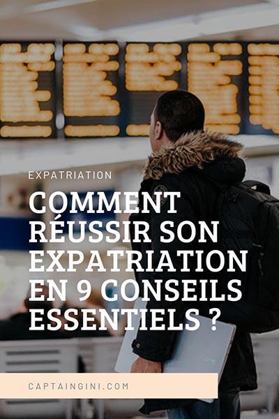 RÉUSSIR SON EXPATRIATION 1